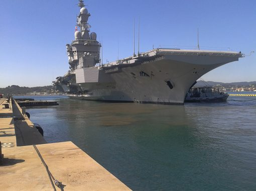 Charles de Gaulle Aircraft Carrier scheduled downtime for maintenance and repairs